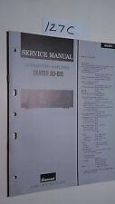 Sansui au-d111 service manual original repair book stereo amp amplifier