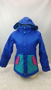 Burton Dryride Snowboard Ski Jacket Youth Size XL Snow Protection 80's Colors