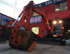SYDNEY MACHINERY HIRE - 8 TONNE ZERO SWING EXCAVATOR DRY HIRE - THREE BUCKETS