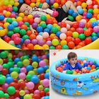 100pc/set Colorful Children Ocean Ball Swim Pit Playing Toy Baby Gift Plastic SG