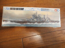 Tamiya British Battleship Prince of Wales 1/700 Water Line Series No.122