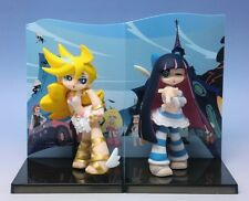 Panty & Stocking with Garterbelt trading Figure set of 2 NEW official authentic