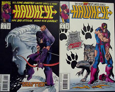 HAWKEYE 1,2...1994...VF/NM...2nd Series...Scott Kolins...Bargain!