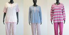 Marie Francoise Damen Schlafanzug Pyjama Set Oberteil und Hose in vielen Farben