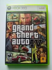 Grand Theft Auto IV Xbox 360 Game Complete Gta 4