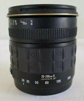 Quantaray 28-200MM 1:3.5-5.6 Aspherical Lens for Sony Minolta SLR Camera *GOOD*