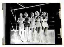 PLAQUE PHOTOGRAPHIQUE NEGATIF ANNES 1940 1950 les baigneuses collection bikini