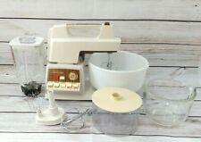 More details for vintage 1950s sunbeam kitchen centre mixer blender original bowls fully working