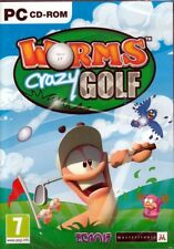 Worms CRAZY GOLF (Win 7/Vista/XP PC Game) Free US Shipping