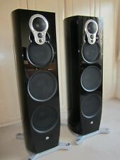 Linn Artikulat 350A loudspeakers, gloss black. Upgradable to Klimax Exakt spec