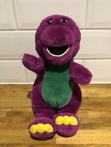 Vintage Barney The Purple Dinosaur Large Plush Soft Toy 1998. Playskool