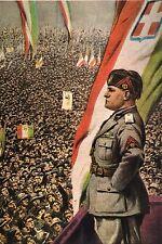 WW2 - Le Duce Bénito Mussolini harangue la foule
