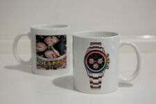 Cup Ceramics Clocks Limited Edition Rainbow Watch Print Gift Idea Cup New