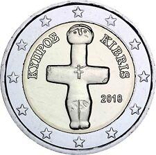 Zypern 2 Euro 2018 Idol von Pomos kreuzförmiges Götzenbild Kursmünze bankfrisch