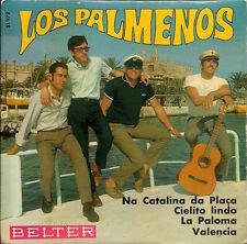 "Los Palmeños [Palmenos] La Paloma signed on the back Spanish 45 7"" EP Spain"