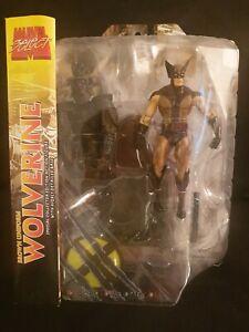 """Marvel Select Wolverine Brown Samurai 7"""" Diamond Toys Select"""