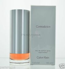Contradiction by Calvin Klein for Women Eau De Parfum 3.4 OZ 100 ML Spray