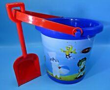 NEW 2012 General Mills Pillsbury Doughboy & Cereal Friends Sand Bucket & Shovel