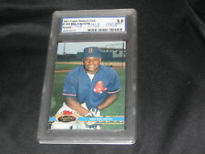 MO VAUGHN 1991 ROOKIE #543 GENUINE AUTHENTIC CERTIFIED BASEBALL CARD GRADED 9
