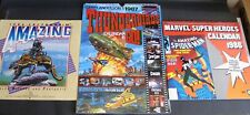 3 Calendars Thunderbirds Marvel Superheroes Amazing Stories 2 Wedding Posters 87