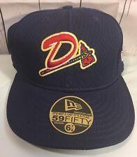Danville Braves Hat New Era Fitted Cap 6 7/8 Milb 59fifty Atlanta NOS