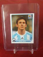 Lionel Messi Argentina 2010 World Cup Panini Sticker
