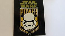 Disney 2015 Star Wars Force Awakens Stormtrooper Power First Order Pin