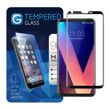 For LG V30+, Full Cover Tempered Glass Screen Protector For LG 30 Plus LG 30+