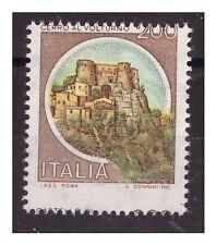 1980 CASTELLI - LIRE 200 DENTELLATURA SPOSTATA NUOVO **