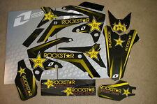 ROCKSTAR TEAM HONDA GRAPHICS & BACKGROUNDS 2009-12 CRF450R & 2010-2013 CRF250R