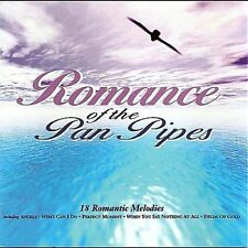 ROMANCE OF THE PAN PIPES CD Fields Of Gold/My Heart Will Go On.Relaxation