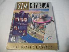 SIM CITY 2000 - SPECIAL EDITION BIG BOX PC CD-Rom WINDOWS DOS NEW SEALED