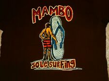 MAMBO FINE ART WEAR 2002 VTG SOLE SURFING SURF HUMOUR T-Shirt TAG S LOUD FUNNY