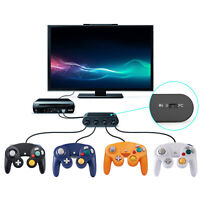 GAMECUBE CONTROLLER ADAPTER 4 PORT / CONTROLLERS FOR NINTENDO SWITHCH WII U & PC