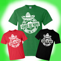 Cinco De Mayo T-Shirt Where's The Tequila? Funny Drinking Tee Unisex