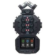 Zoom H8 12-track Portable Handy Recorder Interchangeable Capsules Touchscreen