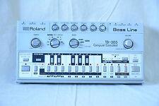 Roland TB-303 TB303 Bass Line Vintage Analog Synthesizer Rare TR808 TR909