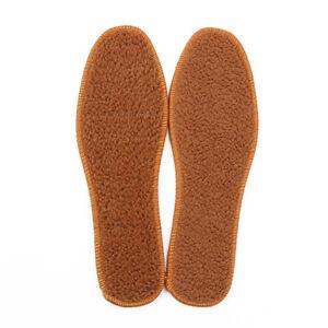 3 Pairs Womens Shoe Insoles Sherpa Berber Fleece Boots Inserts Fuzzy Warm Cozy