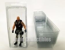 GI JOE BLISTER CASE LOT OF 10 Action Figure Display Protective Clamshell LARGE