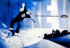 OAKLEY 2002 Mike Vallely Skateboard Dealer Huge Promotional poster New Old Stock