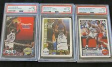 Shaquille O'Neal RC Rookie Card Lot 3 Hoops Skybox McDonalds All PSA 8 MX106
