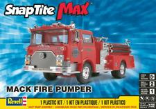 1/25 Scale Revell Models MACK FIRE TRUCK PUMPER SNAP-TITE Kit #851225