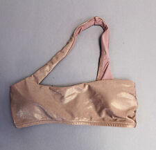 Victoria's Secret Women's Bandeau Cross Body Strap Bikini SC4 Pink Small