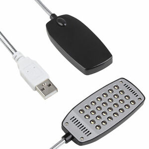 Mini Bright Flexible 28 LED USB Light Computer Lamp Laptop PC electronic desk TT