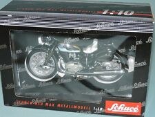 Schuco Germany 1:10 NSU MAX 1954 Historic 2-Seater MOTORCYCLE Bike #06502 MIB!