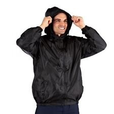 Pro Climate Mens Waterproof Jacket Lightweight Wind Resistant Kag In A Bag