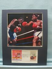 """The Thrilla in Manila"" - Muhammad Ali defeats Joe Frazier  & First Day Cover"
