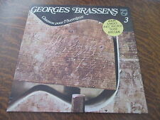 33 tours GEORGES BRASSENS n° 3 chanson pour l'auvergnat