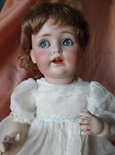 Kestner mold  K JDK 257. German. Flirty eyes. Composition body. Bisque head