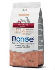 MONGE MINI AD salmon/rice dog food 7,5kg